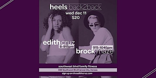 HEELS Back2Back | EDITH & BROCK
