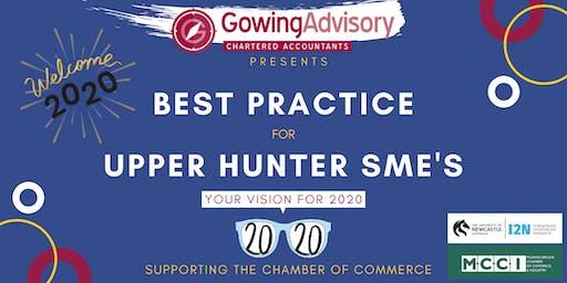 Best Practice for Upper Hunter SME's