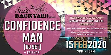 Ric's Bar presents Confidence Man [DJ SET] + Friends tickets