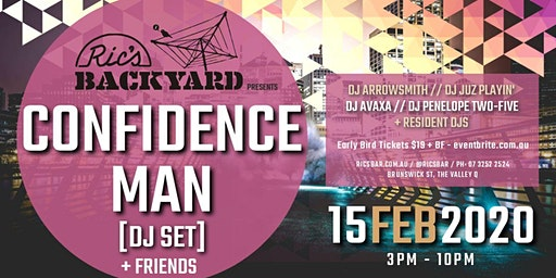 Ric's Bar presents Confidence Man [DJ SET] + Friends
