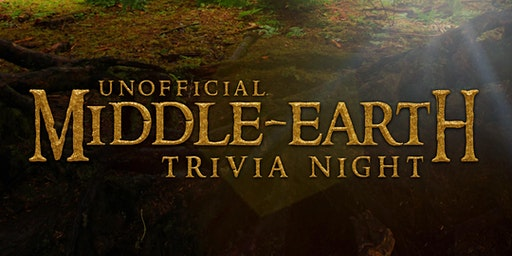 Unofficial Middle-Earth (LotR and The Hobbit) Trivia Night