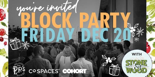 Deck the Laneway, It's Christmas Block Party Time