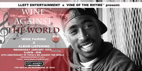 Wine Against the World: A Wine Pairing x Album Listening Experience tickets