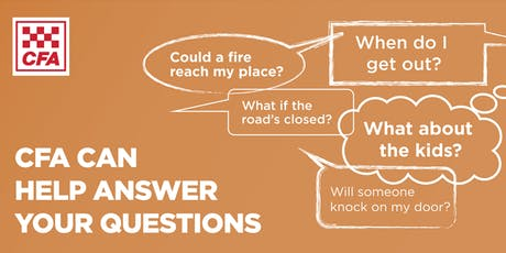 Macclesfield CFA - Fire Information Session tickets
