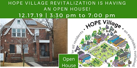 HOPE Village Revitalization Open House tickets