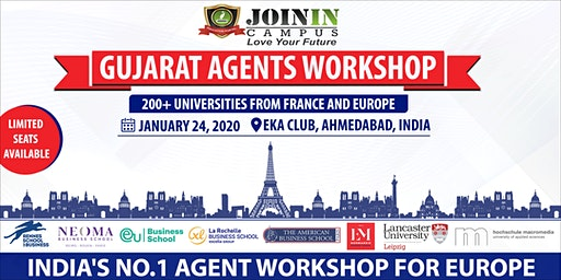 Gujarat Agents Workshop : Study In France & Europe