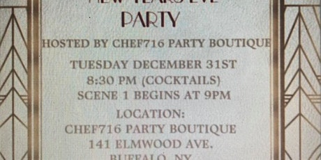 Murder Mystery New Years Eve Party tickets