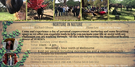 Nurture in Nature - A blissful day to Relax, Replenish & Re-imagine tickets
