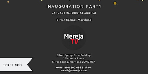 Mereja TV Inauguration Party in Silver Spring, Maryland