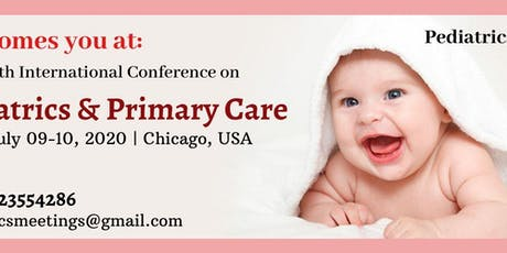 30th International Conference on Pediatrics & Primary Care tickets