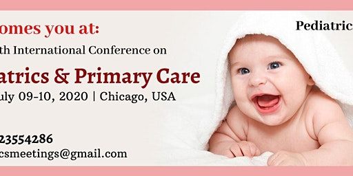 30th International Conference on Pediatrics & Primary Care