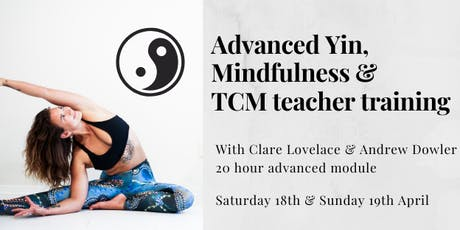 Advanced Yin Teacher Training 20 hour module tickets