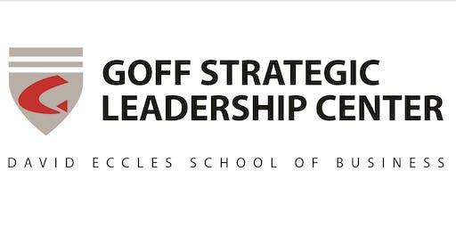 Goff Strategic Leadership Center Open House