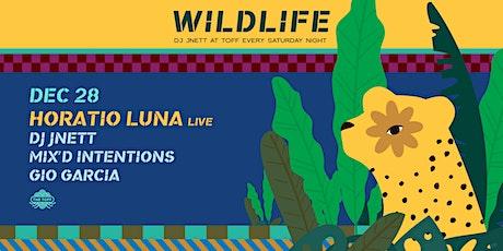WILDLIFE WITH DJ JNETT + HORATIO LUNA tickets