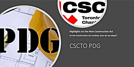 PDG: Highlights on the New Construction Act tickets