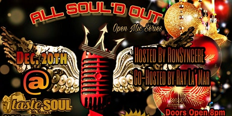 ALL SOUL'D OUT OPEN MIC SERIES tickets