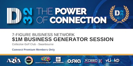 District32 Connect Premium $1M Business Generator Session - Thu 13th Feb tickets
