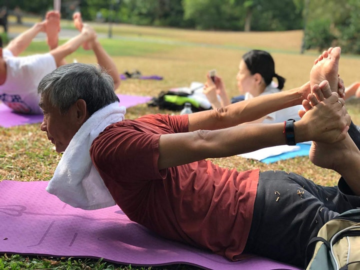 Outdoor Yoga @ UNESCO World Heritage image