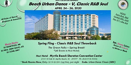 BEACH URBAN DANCE - V,  CLASSIC R&B SOUL  (WEEKEND) tickets