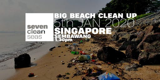 New Year Coastal Clean Up - Singapore