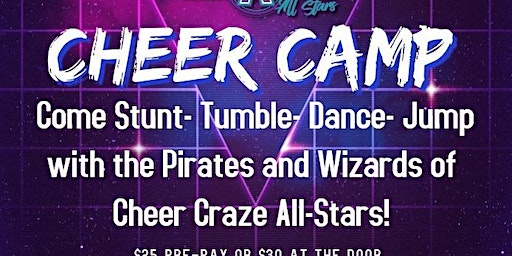 New Year Eve's Cheer Camp