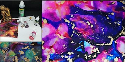 Alcohol Inks at Topaze Art Studio