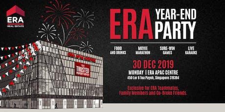 ERA Year End Party @ ERA APAC Centre | 30 Dec 2019  (Mon) | 3 PM - 9 PM tickets