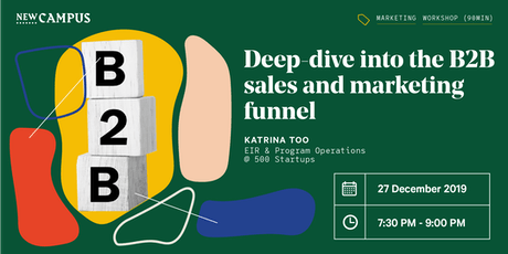 Deep-dive into the B2B sales and marketing funnel tickets