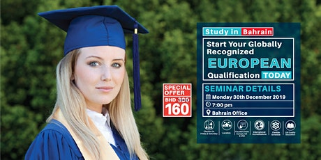 FREE SEMINAR on UK Accredited Qualification in Bahrain tickets