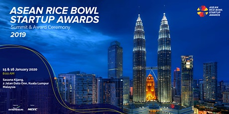 ASEAN Rice Bowl Startup Awards  - Summit & Award Ceremony 2019 tickets