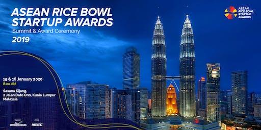 ASEAN Rice Bowl Startup Awards  - Summit & Award Ceremony 2019