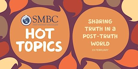 SMBC Hot Topics - Talk 3 tickets