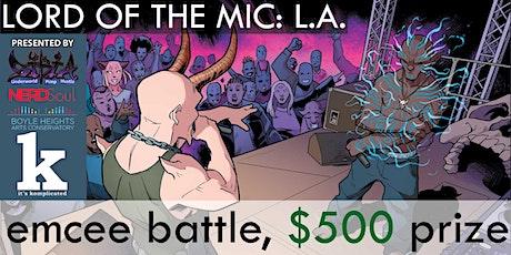 Lord of the Mic: LA (MC Battle) tickets