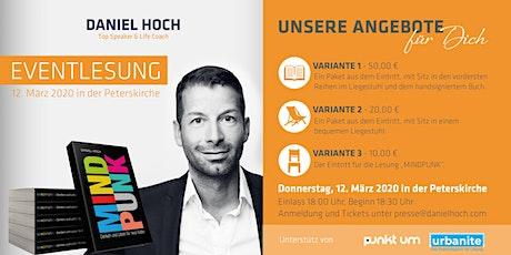 """Daniel Hoch """"MINDPUNK"""" Lesung zur Leipziger Buchmesse 2020 Tickets"""