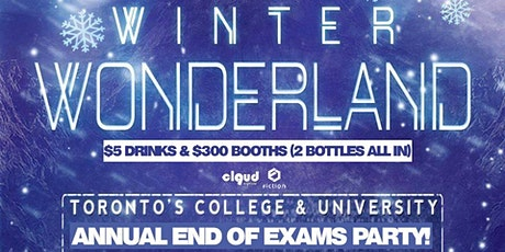 Winter Wonderland | End of Exams @ Fiction // Fri Dec 13 | Ladies FREE tickets