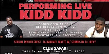 Hip Hop Go Live 5 W/ KIDD KIDD - Artist Registration  tickets
