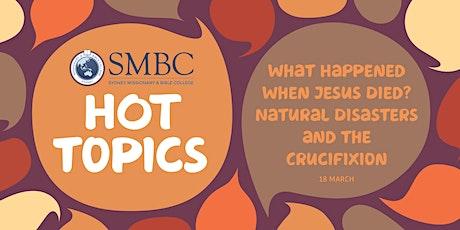 SMBC Hot Topics - Talk 6 tickets