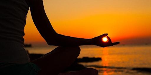 Sunset Yoga by the Beach