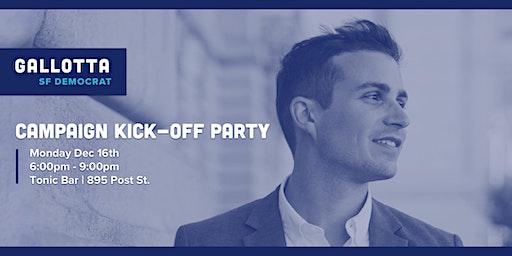 A Whole Lotta Gallotta 2020: Peter's DCCC Campaign Kick-off & Fundraiser!
