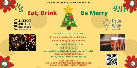 Christmas Party @ LikeMeetWork! tickets