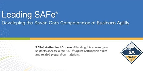 Leading SAFe® 5.0 Certification Training in Turkey tickets