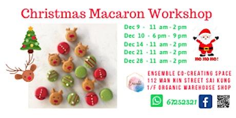 Christmas Macarons Workshop tickets