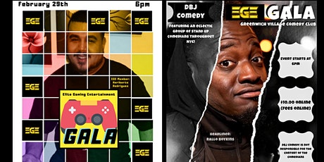 DBJ Comedy: EGE GALA tickets