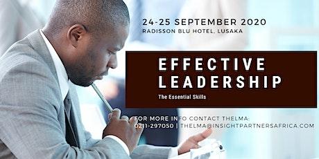 Effective Leadership Workshop tickets