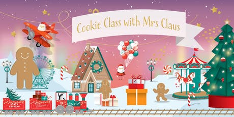 Cookie Class with Mrs Claus tickets