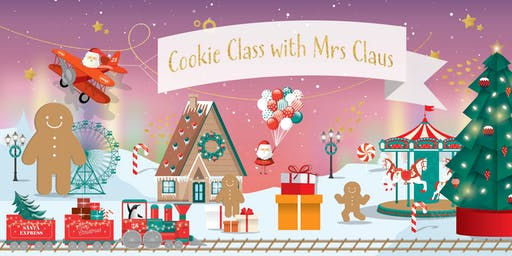 Cookie Class with Mrs Claus
