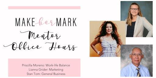 Make Her Mark Mentor Office Hours