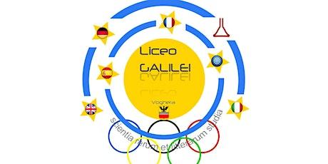 Prova il Liceo - open day 2 Liceo Galilei 2020 biglietti
