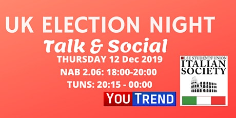 LSESU Italian Society/YouTrend Election Night tickets