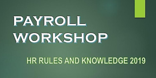 PAYROLL WORKSHOP